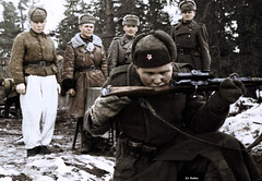 Soviet sniper - Battle of Moscow 1942 (Za Rodinu) Tags: world 2 man men history vintage soldier war gun russia military rifle rifles front german weapon ww2 soldiers historical guns 1942 1945 rare troops 1944 1943