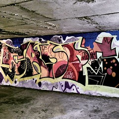 upload (collations) Tags: toronto ontario abandoned square concrete graffiti documentary squareformat infrastructure crops builtenvironment parkingstructures thinkinginsidethebox concretedreams allsquaredup iphoneography instagramapp uploaded:by=instagram parkinggarges