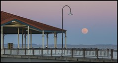 Redcliffe Jetty at Full Blue Moon Rise-1= (Sheba_Also) Tags: moon jetty full redcliffe rise