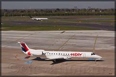 F-GUBG Embraer ERJ-145MP Hop! (elevationair ✈) Tags: hop dusseldorf airfrance airliners embraer dus erj eddl e145 dusseldorfinternational fgubg