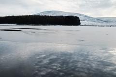sky,but  in the wrong place (Bob_Last_2013) Tags: ice frozen winter frozenlake scottishwinter scotland landscape loch scotttishborders