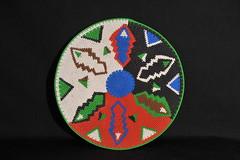 Zulu Wire Basket African (Teyacapan) Tags: zulu basket wire southafrican crafts