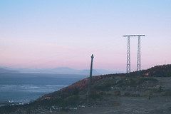 tarifa (gabriel_90sflav) Tags: tangier morocco analog film nasty pastel grunge sky sunset dream tanger 35mm tumblr vintage ocean gibraltar