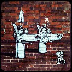 Street Art by Sepr, Birmingham City Of Colours 2016 (firstnameunknown) Tags: iphoneography hipstamatic birmingham digbeth cityofcolours urban art graffiti mural streetart sepr