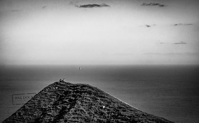A couple in Kalsoy - Faroe Islands
