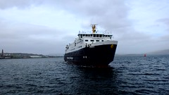 Scotland Greenock large car ferry Hebrides entering the ship repair dry dock video 13 March 2017 by Anne MacKay (Anne MacKay images of interest & wonder) Tags: scotland greenock caledonian macbrayne car ferry hebrides ship repair dry dock 13 march 2017 video by anne mackay
