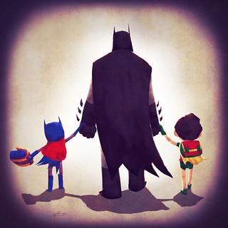 正義聯盟的爸爸媽媽是如何帶小朋友去上學呢? by Andry Rajoelina