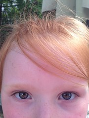 (faded-reality) Tags: blue eyes toddler blueeyes redhead freckles uploaded:by=flickrmobile flickriosapp:filter=nofilter