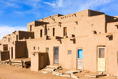 North Pueblo (Michael Deleon Photo) Tags: newmexico architecture buildings unitedstates historic nativeamerican adobe taos taospueblo