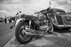 Honda 750 Four... (Ross917) Tags: leica honda four 28mm meeting competition racing explore summicron 5500 91 motos courses m9 750 750four comptition montlhry oldmotorbikes motosanciennes leicam9 ancienneshondahonda