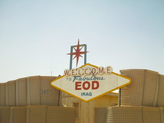 The Fabulous EOD Sign (ibgrunt) Tags: iraq cob speicher tikrit