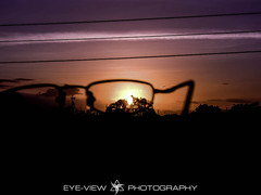 The Idea (Eye-View Photography) Tags: sunset red black tree love nature beautiful lens glasses nikon focus scenery perfect purple caribbean eyeview jamica p510