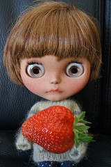 That's one big strawberry !!