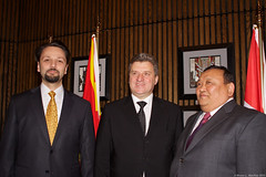 LSP Macedonian President (209) (Bruce MacRae) Tags: centre ottawa president arts macedonia reception national fraser lois macrae highlanders 78th siegel ivanov gjorge