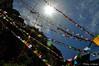 Prayer Flags @Taktsang Monastery, Bhutan (@mons.always) Tags: travel sun nikon asia bhutan buddhism monastery taktsang prayerflags sunrays d90 18105mm