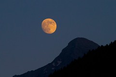 Super Moon over Cima Dodici (piazzi1969) Tags: italy night mond luna clear solstice trentino valsugana cimadodici roncegno supermoon