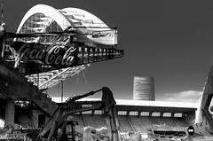 El comienzo del fin (Inigo Montes .) Tags: athletic san torre bilbao estadio campo bizkaia arco demolicin iberdrola sanmames zelaia mames