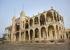 Ruins Of The Former Banca D Italia, Massawa, Eritrea (Eric Lafforgue) Tags: africa door travel color colour building history abandoned coral horizontal architecture facade outdoors photography ruins war day outdoor redsea arcade ruin bank nobody nopeople palace ottoman damaged decline turkish bombed oldfashioned massawa eritrea arabesque hornofafrica coastaltown eastafrica batsi ottomanempire buildingexterior colorpicture oldruin lowangleview colourimage italiancolony massaua massaoua ertra builtstructure colourpicture africaorientaleitaliana ottomanturks mitsiwa massawaisland italiancolonialempire batseisland colonialitalianarchitecture eri5519
