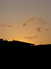 The end of day (Smartie.) Tags: houses sunset orange black home yellow tramonto day silhouettes case giallo nero arancio contorni theendofday contornidiluce