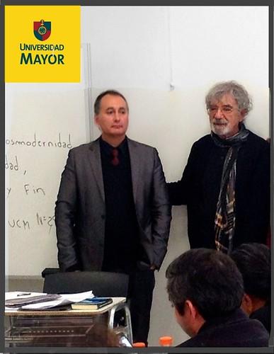 Adolfo Vásquez Rocca PHD. y Dr. Humberto Maturana Matriztica y Universidad Mayor_ Magister en Biología Cultural