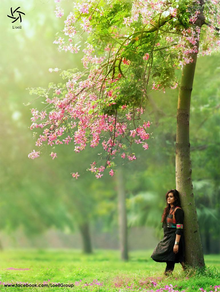 beautiful girl nature photography   pixshark