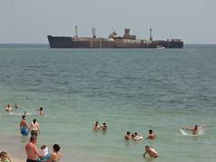 Costinesti (brianj.lowe) Tags: beach europe romania litoral blacksea plaja costinesti mareaneagra epava