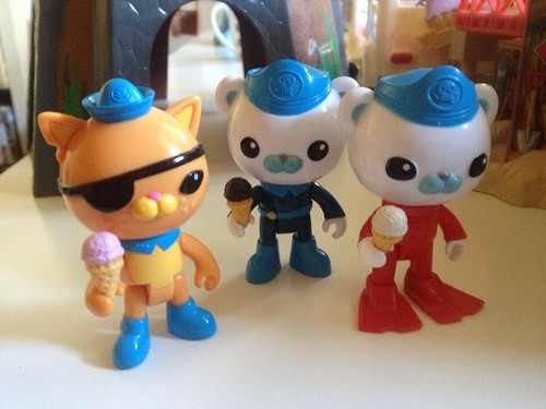 Octonauts ice-cream break