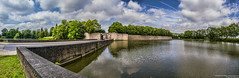 Ypres Panorama (Proper Job Productions) Tags: panorama reflection water belgium ieper hdr ypres