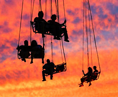 Riding in the sunset (vpickering) Tags: sunset silhouette ride sundown fairs silhouettes sunsets fair rides countyfair agriculturalfair carnivalride carnivalrides montgomerycountyfair agriculturalfairs 2013 countyfairs montgomerycountyagriculturalfair