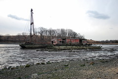 barge (grumpyff) Tags: abandoned bronx barge cityisland