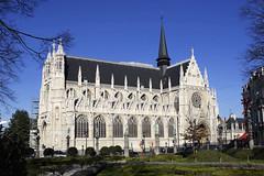 Bruxelles, glise Notre-Dame-du-Sablon (Ytierny) Tags: belgique cit bruxelles capitale brussel flamboyant parc gothique eglise edifice cosmopolite notredamedusablon flamande ytierny