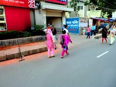 Pedestrians (Cathy) Tags: street summer pedestrians dhaka bangladesh