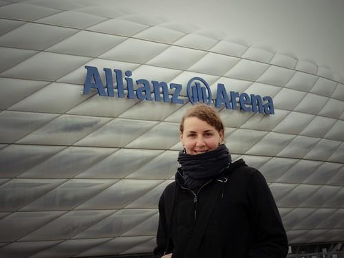 Stade Allianz Arena, Münich, Allemagne