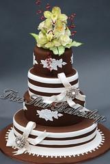 Custom Wedding Cakes Charlotte NC (Five Star Bakeshop) Tags: cakes cake nc bakery gumpasteflowers charlottebakery flickrandroidapp:filter=none uniquecakescharlotte fondantcakescharlotte weddingcakescharlotte