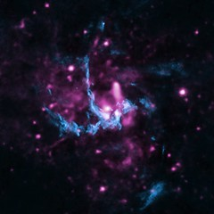 High-Energy Particles in Milky Way Black Hole (NASA, Chandra, 11/20/13)