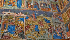 17th Century frescoes in the Church of Elijah the Prophet, Yaroslavl (Yvon from Ottawa) Tags: art church river gallery russia 17thcentury paintings volga yaroslavl rivercruise frescoes uniworld elijahtheprophet rivervictoria imperialwaterwaysofrussia