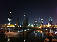 IMG_6800 (Johnnas13) Tags: city sea night buildings lights towers kuwait souq q8 sharq