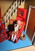 Granny Lundby... (*blythe-berlin*) Tags: orange vintage göteborg toys dolls furniture gothenburg 70s möbel byebye spielzeug dollhouse caco jahre puppenhaus lundby 70ziger biegepuppen doll´shouse