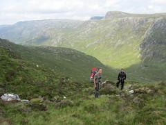 Descending into Glen Coul