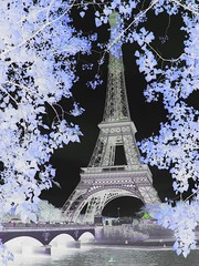 The Eiffel tower in the negative mode (3)