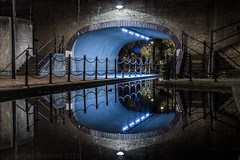 London   |   Rotherhithe Reflections Revisited (JB_1984) Tags: bridge reflection water channel canal symmetry surreywater canadawater rotherhithe londonboroughofsouthwark london england uk nikon d7100 nikond7100