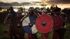 Prediction of Warfare - Tyrsland (Alan1086) Tags: ireland training nikon helmet eire historic bow whip sword shield educational arrow archery viking weapons spear kildare reenactments ringfort donadea d7100 tyrsland