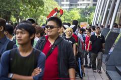 Afternoon Queues |  (francisling) Tags: comic fiesta g sony centre e malaysia convention kuala lumpur pz  oss  nex  2013 5n 18105mm   cf2013 selp18105g