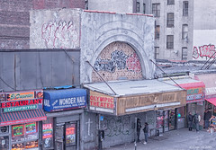 Olympic Theater (Robert Lejeune) Tags: graffiti bronx streetphotography southbronx olympictheater