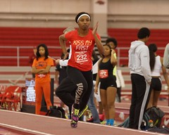 University of Arkansas High School Invitational Track and Field (Garagewerks) Tags: school girl field sport female youth high jump long university track all child sony sigma indoor run arkansas athlete f28 invitational 70200mm 2014 views100 views200 views300 slta77v