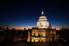 St Paul's (adrian.wai) Tags: city uk longexposure blue sunset london night canon tokina traveling fullframe ff f28 magicmoment 6d 1628