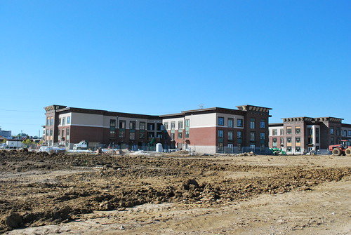 Former Cincinnati Milacron Development / Oakley Station October 2013