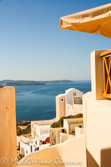 Pathway (Mellography) Tags: blue houses sea white stairs europe path santorini greece pathway adriatic