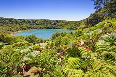 Laguna Botas-Poas Volcano (billberryphoto) Tags: blue plants lake tourism nature water beautiful landscape volcano nationalpark flora costarica natural lagoon vegetation destination lush centralamerica poas