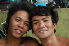 Phillipines, street portrait. (Stone.Rome) Tags: street friends portrait people man male friendship philippines earring